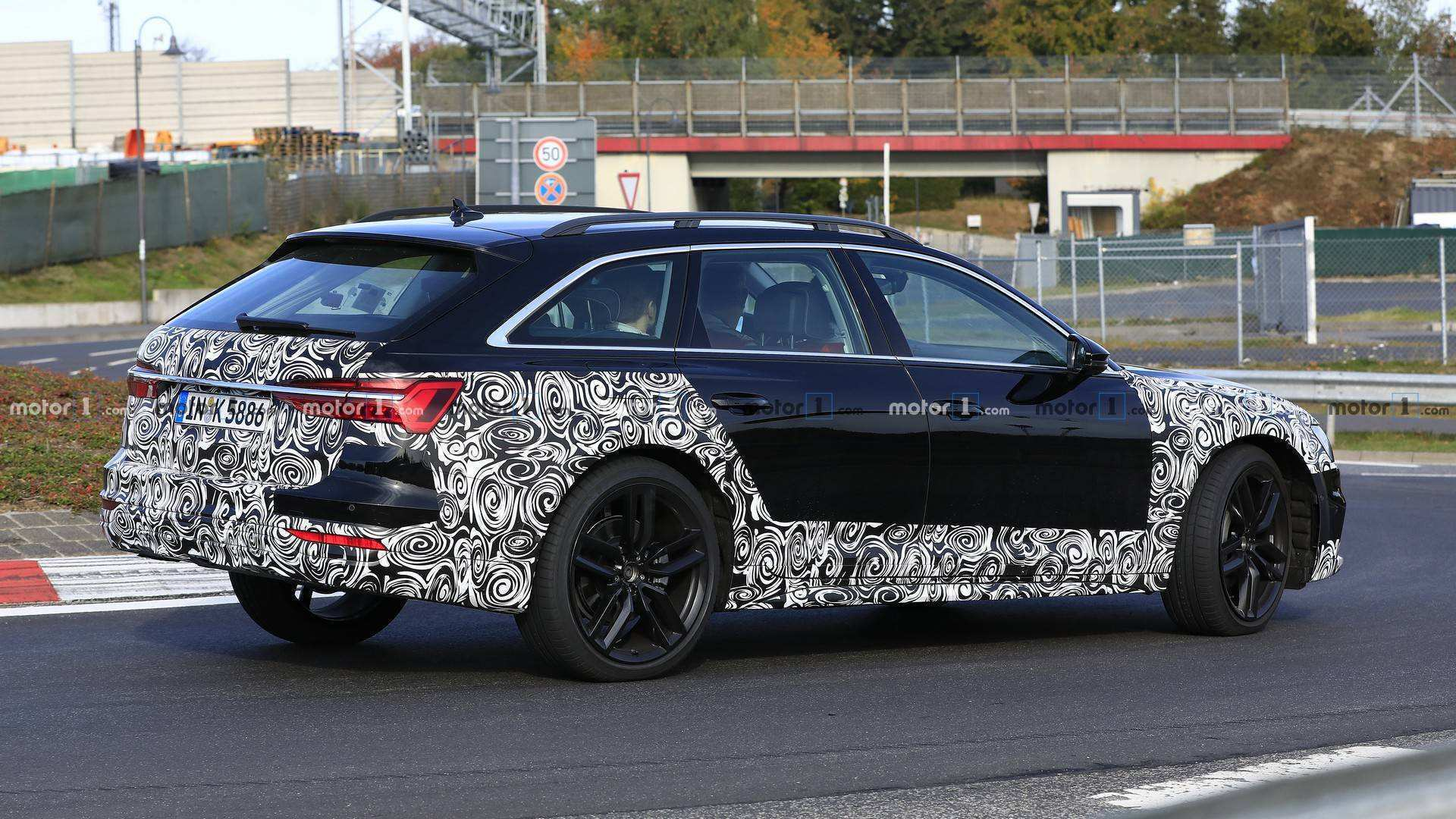 71 A 2020 Audi A6 Spy Shoot