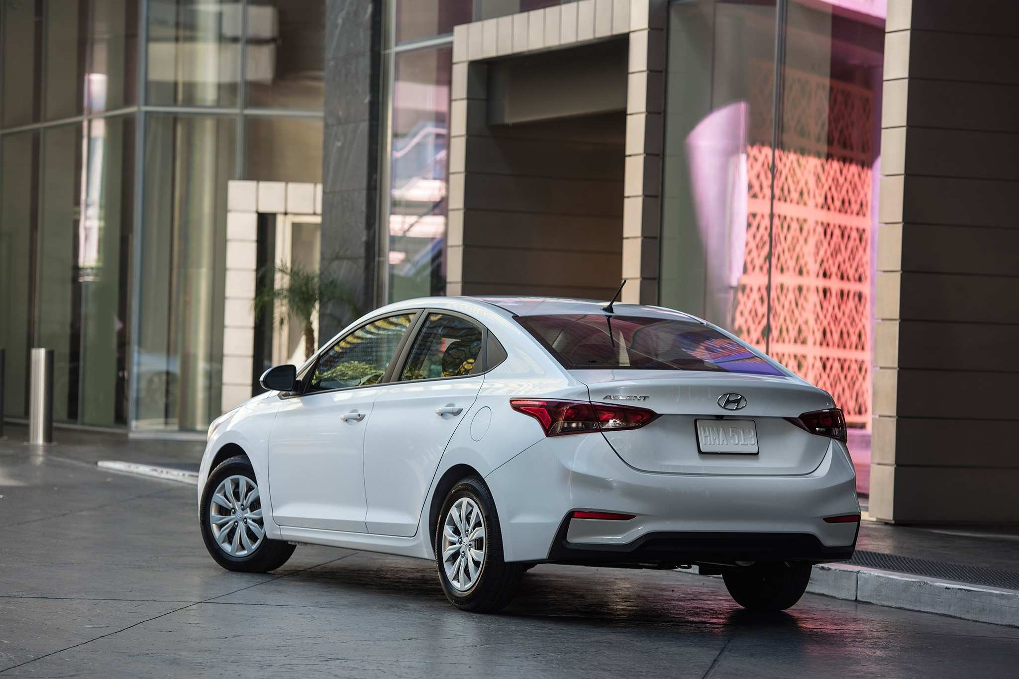 71 A 2020 Hyundai Accent Spy Shoot