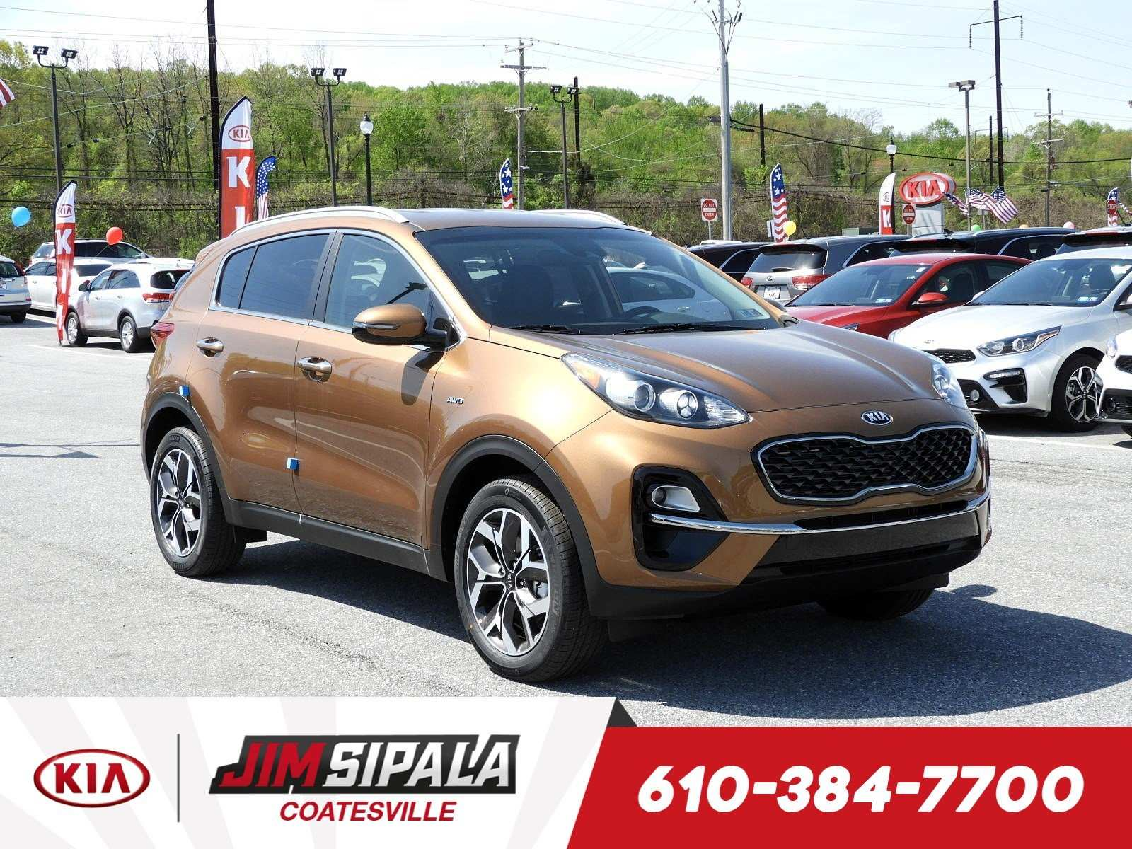 71 A 2020 Kia Sportage Photos