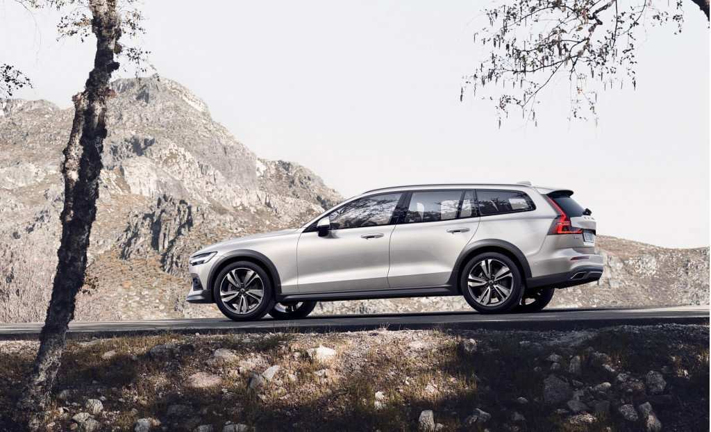71 All New 2020 Volvo V60 Cross Country Spy Shoot
