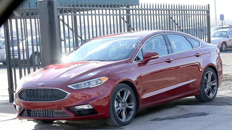 71 All New Spy Shots Ford Fusion Concept And Review
