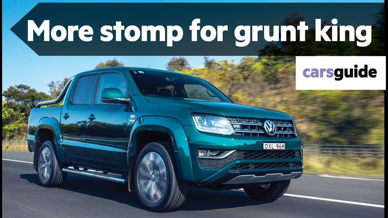 71 The 2019 VW Amarok Performance And New Engine