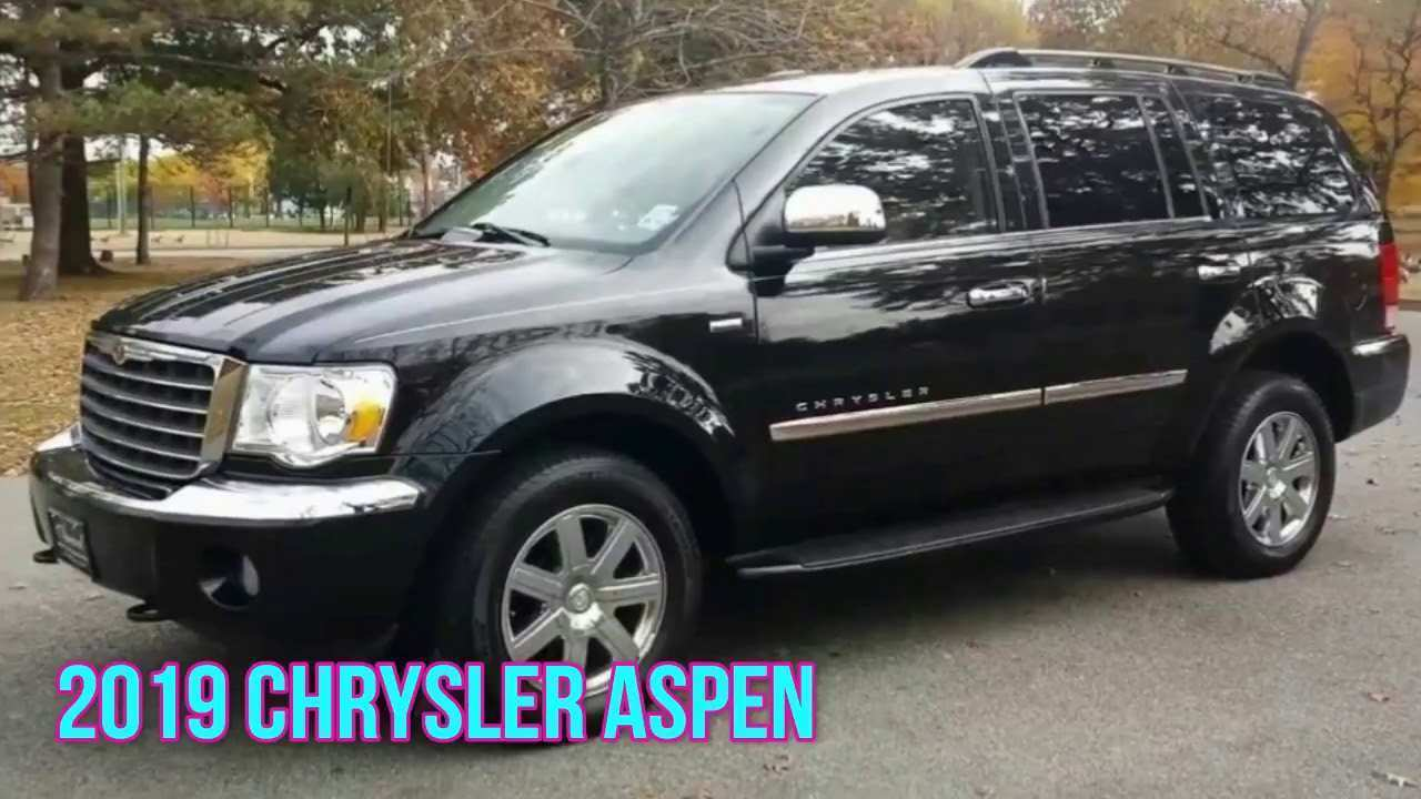 71 The Best 2019 Chrysler Aspen Performance And New Engine