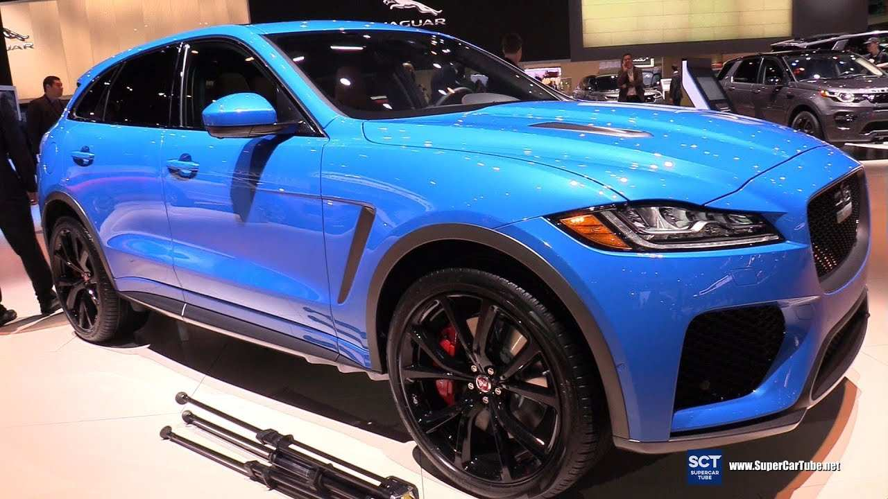 71 The Best 2019 Jaguar F Pace Svr Wallpaper