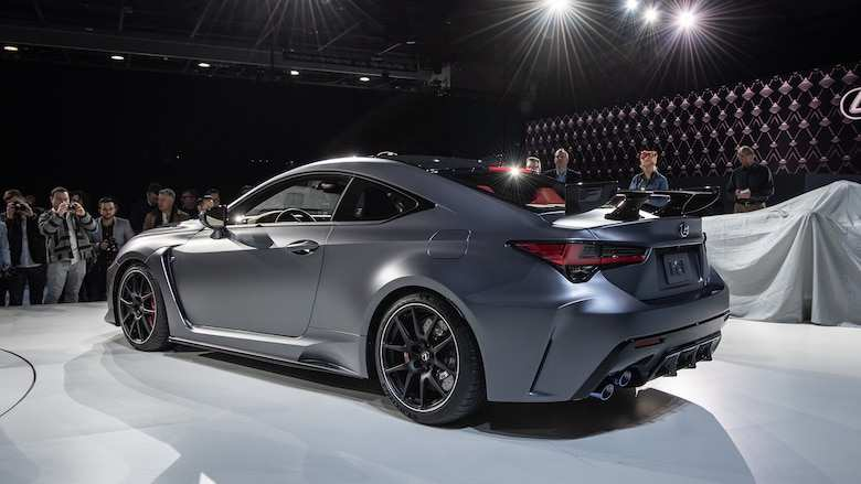 71 The Lexus F 2020 Model