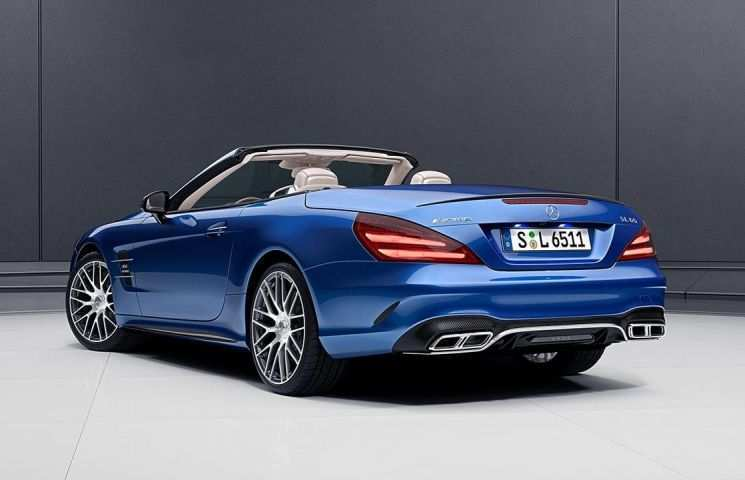 71 The Mercedes Sl 2019 Wallpaper