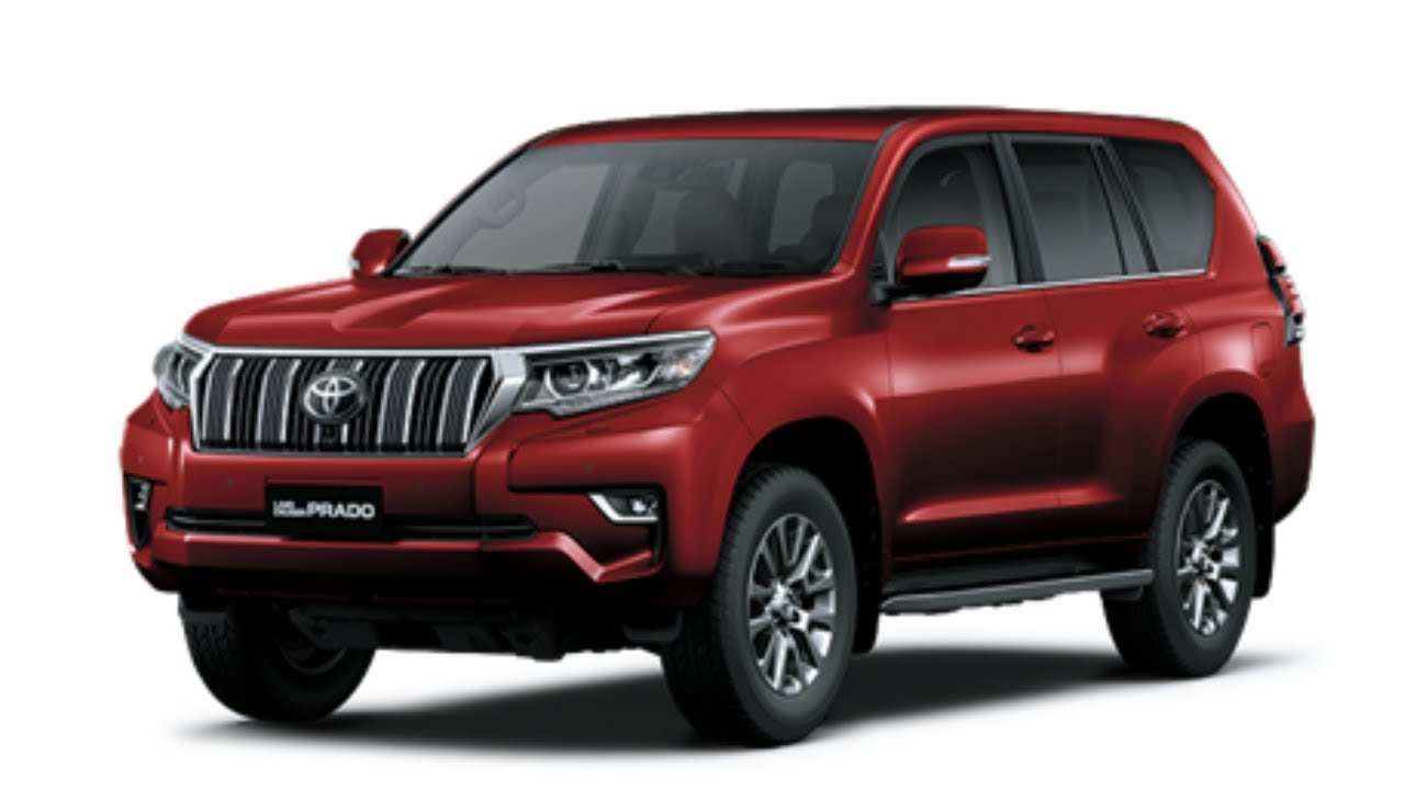 71 The Toyota Prado 2019 Australia Redesign And Review