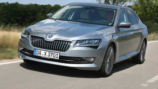72 A 2019 New Skoda Superb Interior