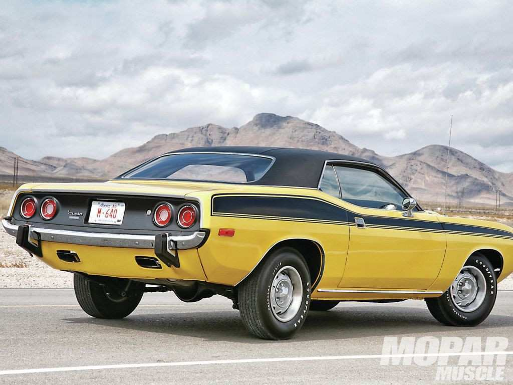 72 A 2019 Plymouth Barracuda Overview