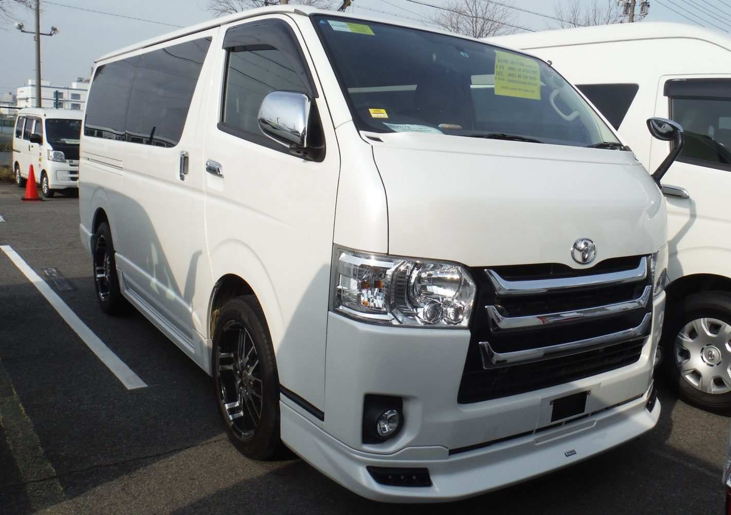 72 A 2019 Toyota Hiace Ratings