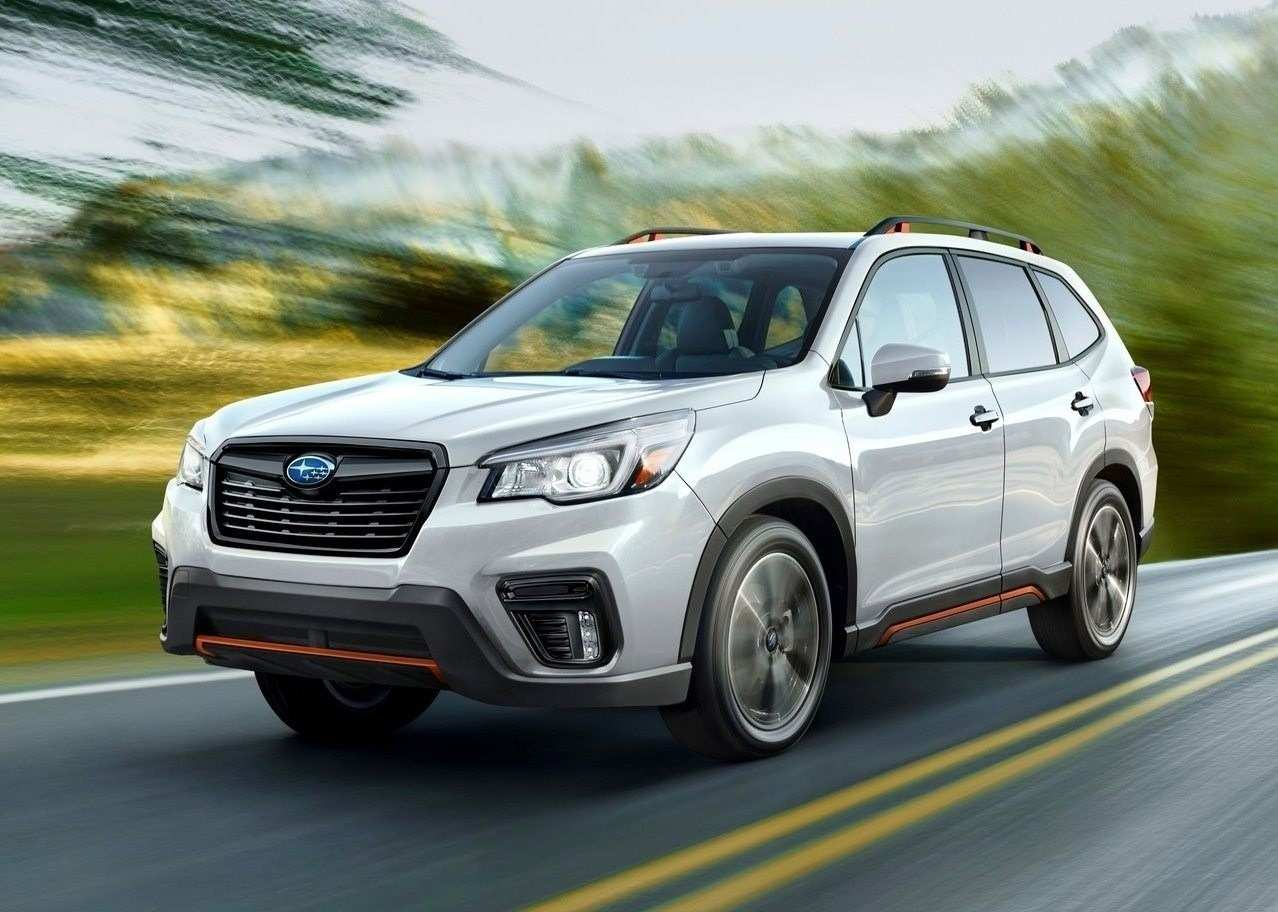 72 A 2020 Subaru Forester Turbo Photos