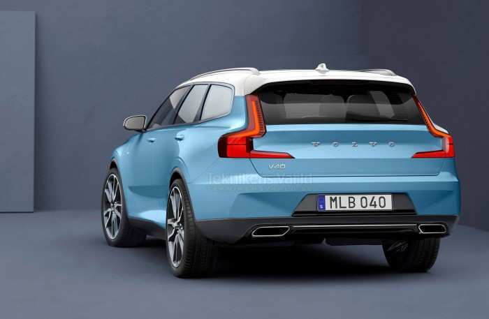 72 A Volvo 2019 V40 Redesign And Review