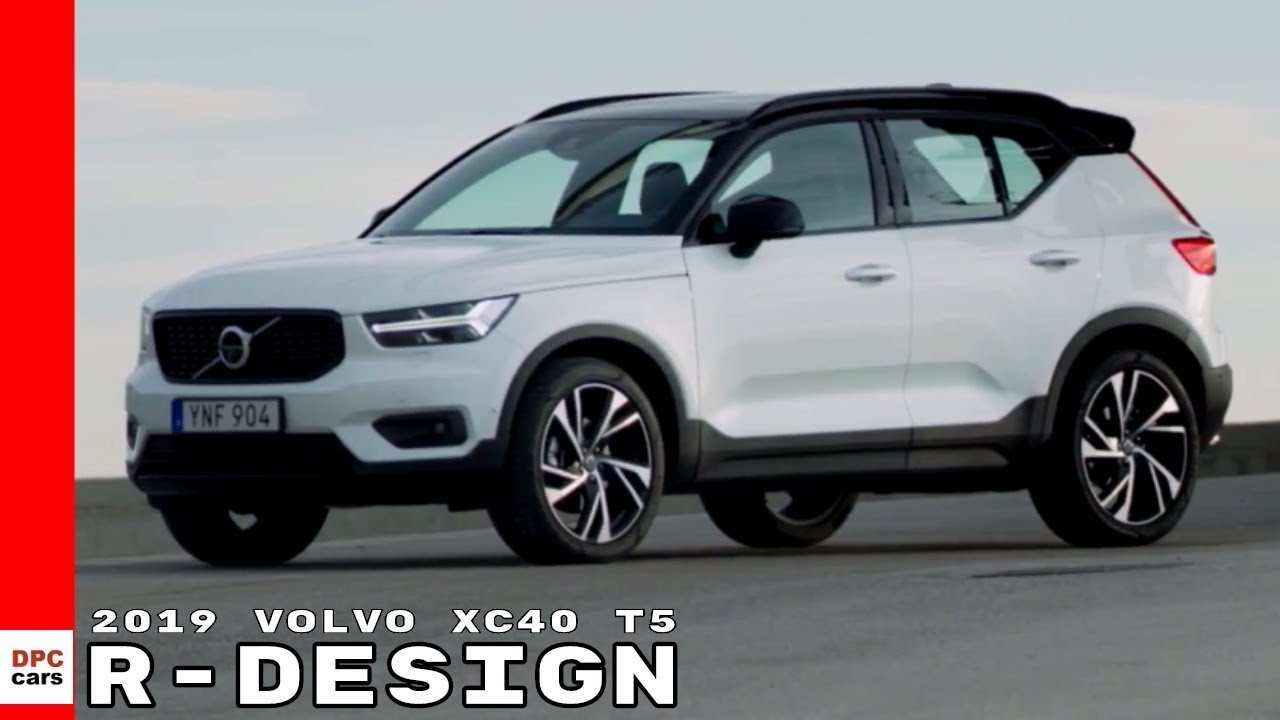 72 All New 2019 Volvo Xc40 T5 R Design Research New