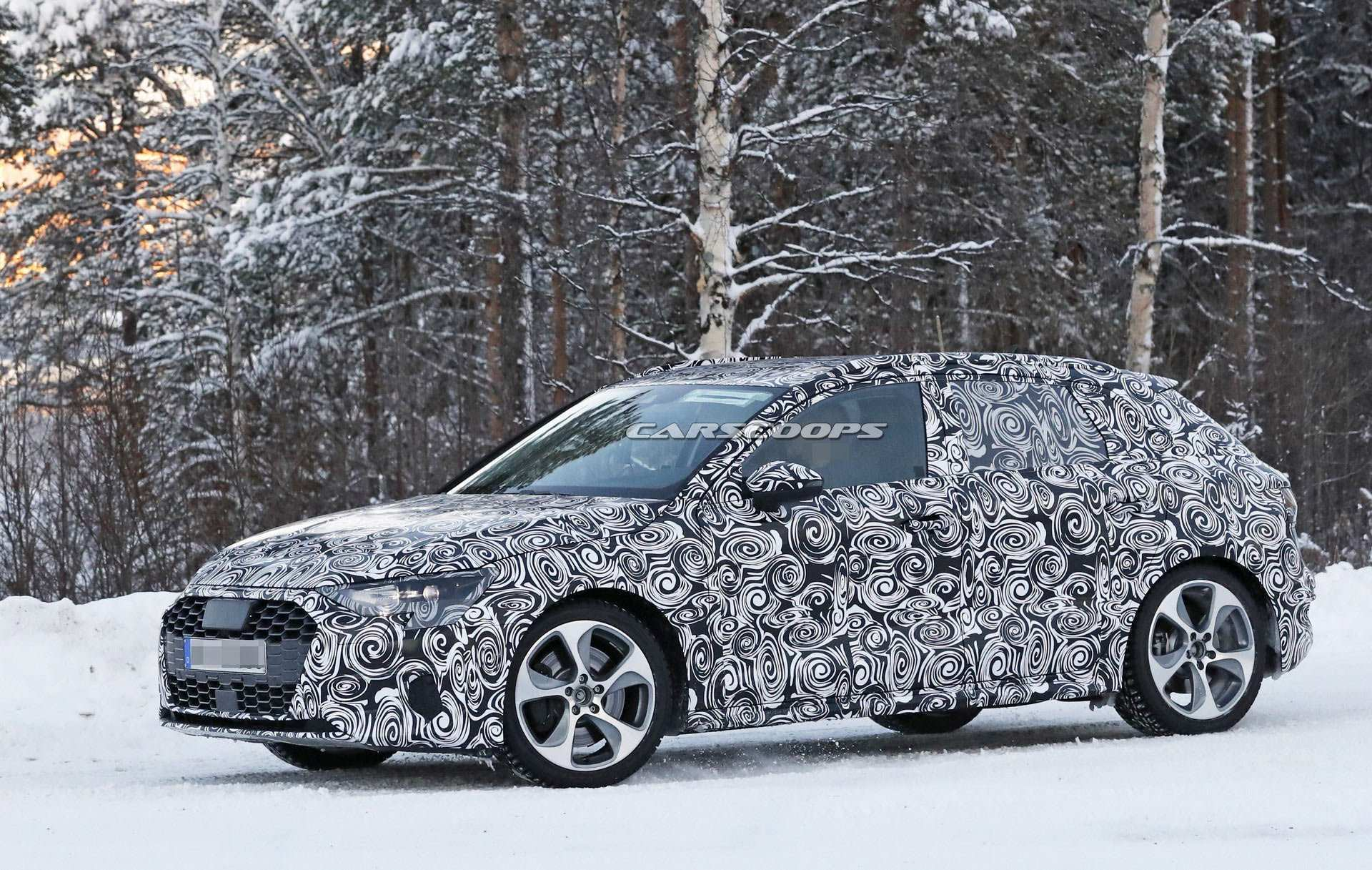 72 All New 2020 Audi A3 Spy Shoot