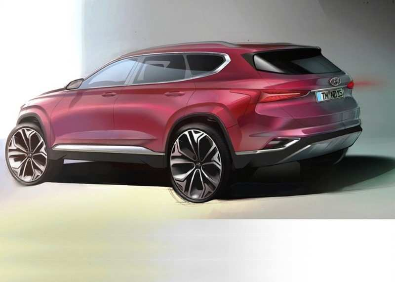 72 All New New Hyundai Santa Fe 2020 Research New