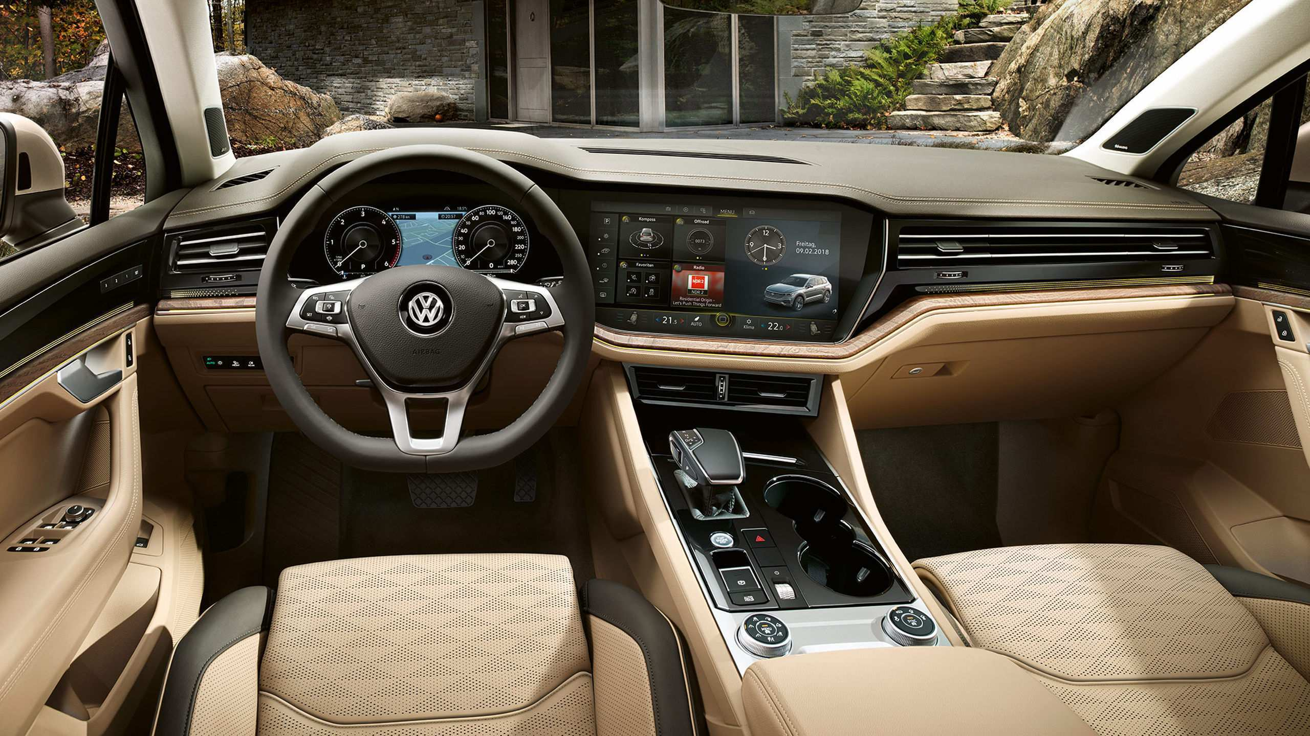 72 All New Vw Touareg 2019 Interior Ratings