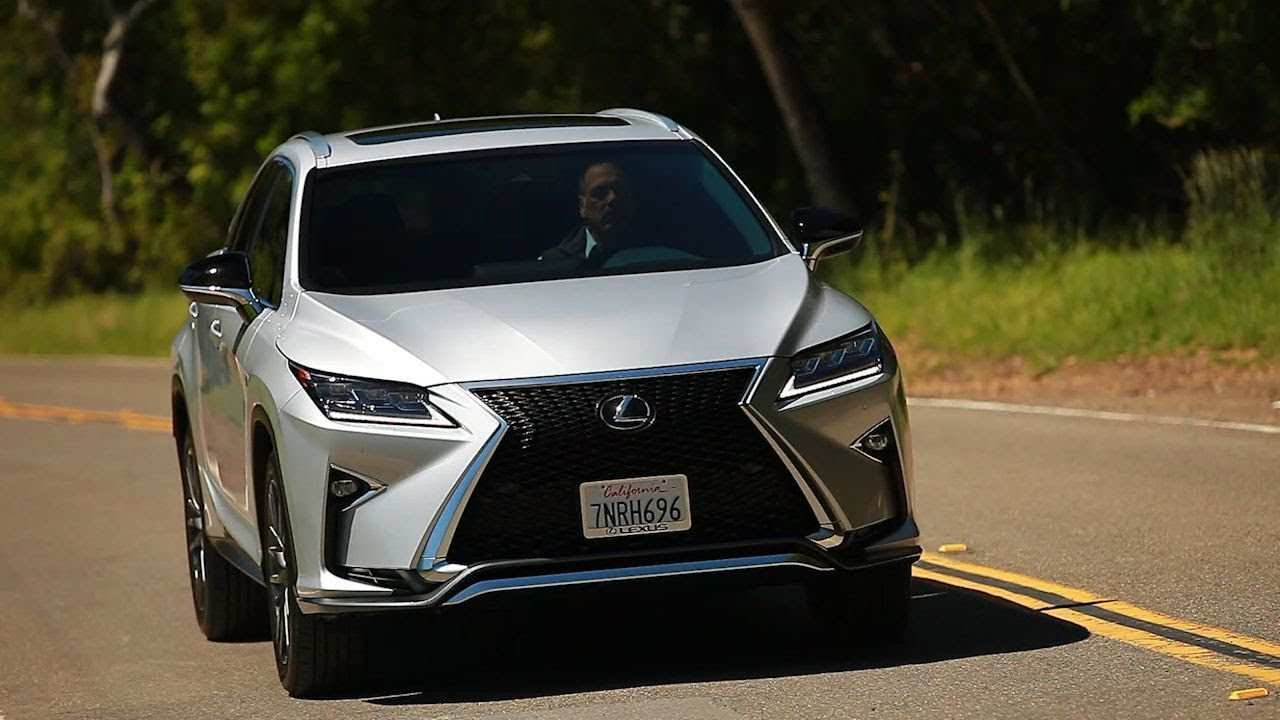 72 New 2019 Lexus Rx 350 F Sport Suv New Model And Performance
