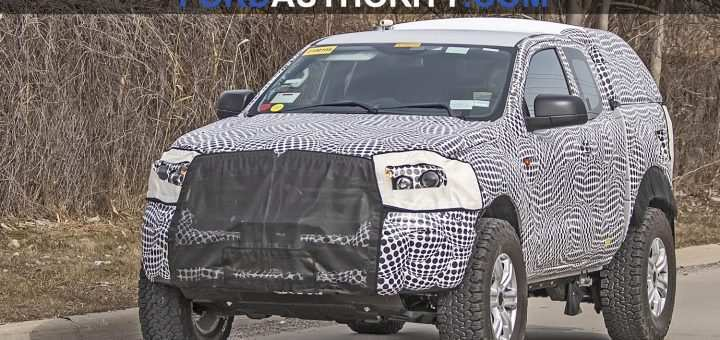 72 New Ford Bronco 2020 Spy Photos Redesign And Review