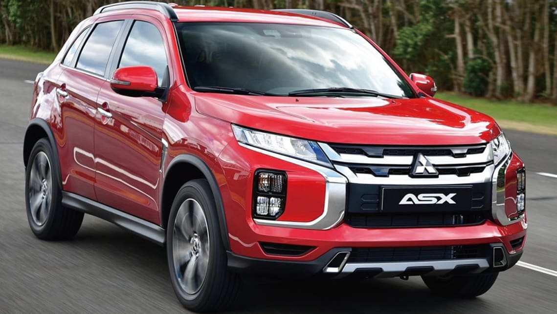 72 New Mitsubishi Asx 2020 Review Exterior And Interior