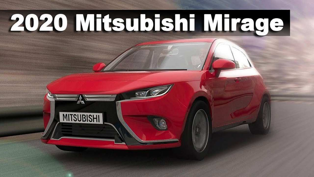72 New Mitsubishi Mirage Facelift 2020 Price And Release Date