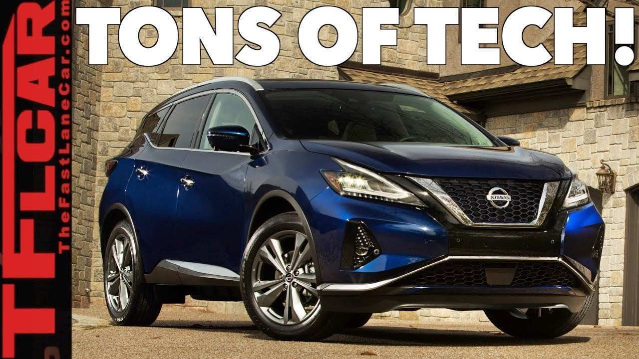 72 The 2019 Nissan Murano Review And Release Date