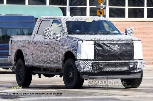 72 The 2020 Ford F250 Diesel Rumored Announced Redesign And Review