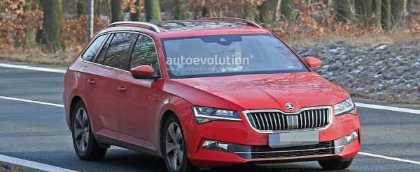 72 The 2020 New Skoda Superb Style