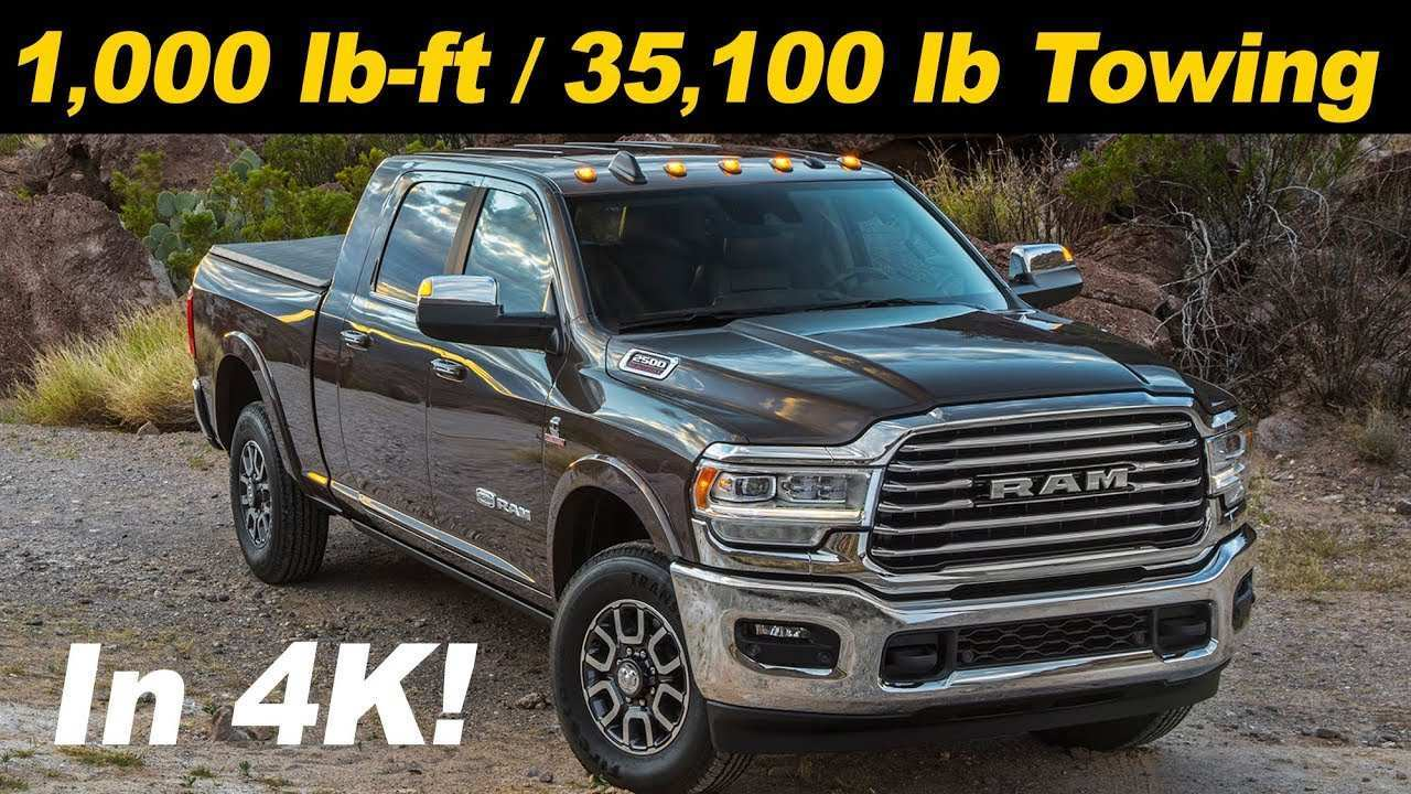 72 The Best 2019 Ram 3500 Diesel Release Date And Concept