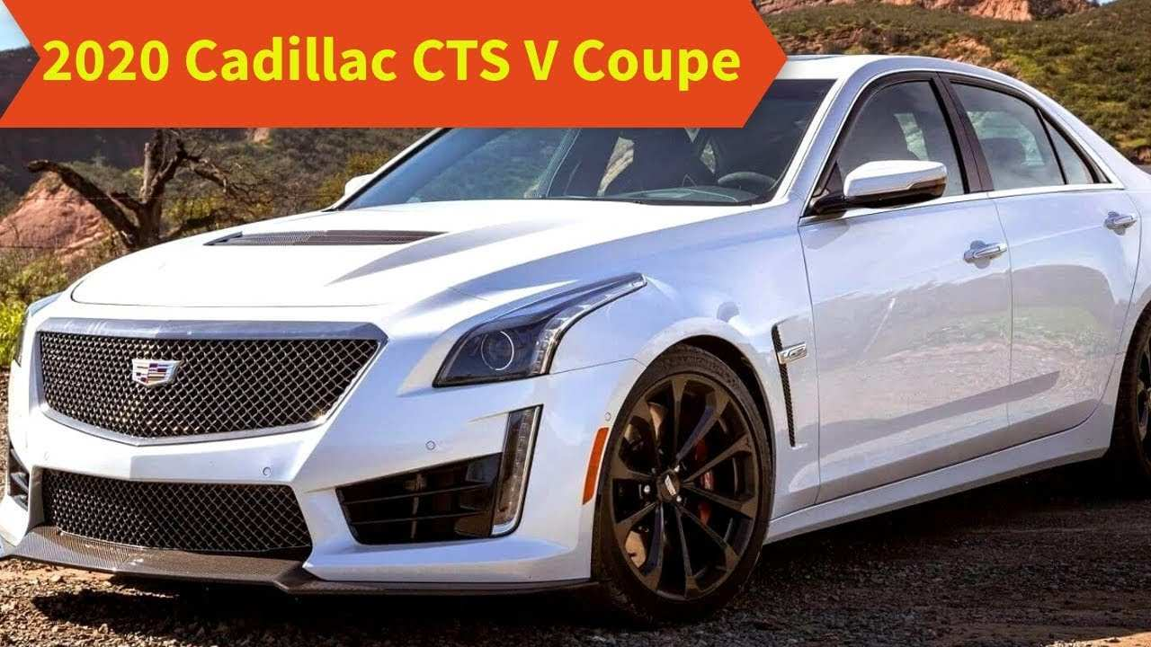 72 The Best 2020 Cadillac CTS V First Drive
