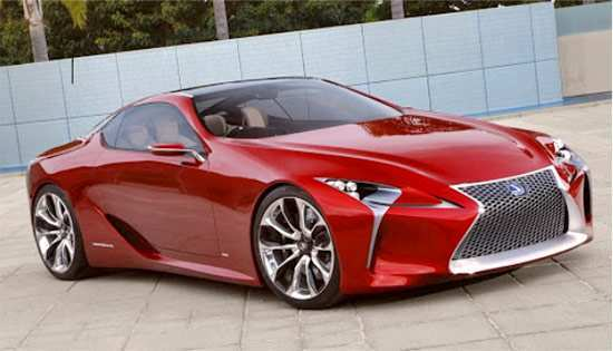 72 The Best 2020 Lexus Lf Lc Redesign And Review