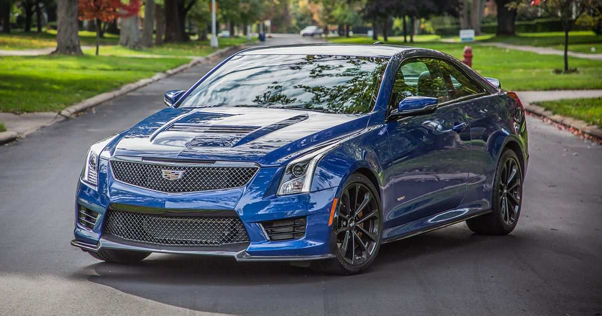73 A 2019 Cadillac Ats V Coupe Engine