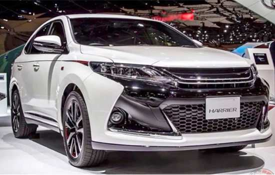73 A Toyota Harrier 2020 Interior