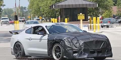 73 All New 2020 The Spy Shots Ford Mustang Svt Gt 500 Model