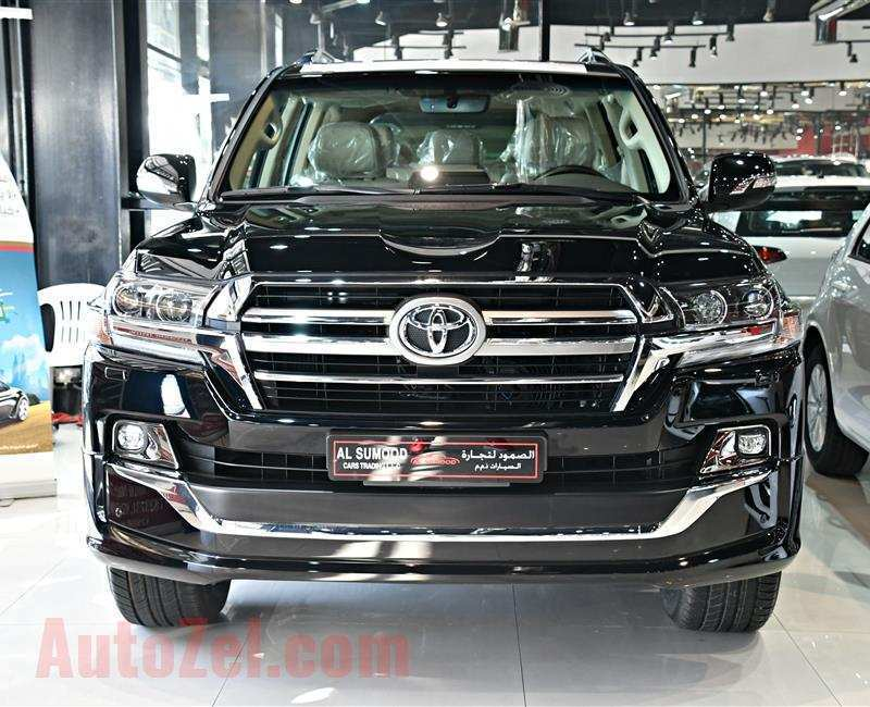 73 All New Toyota Land Cruiser V8 2019 Redesign And Concept