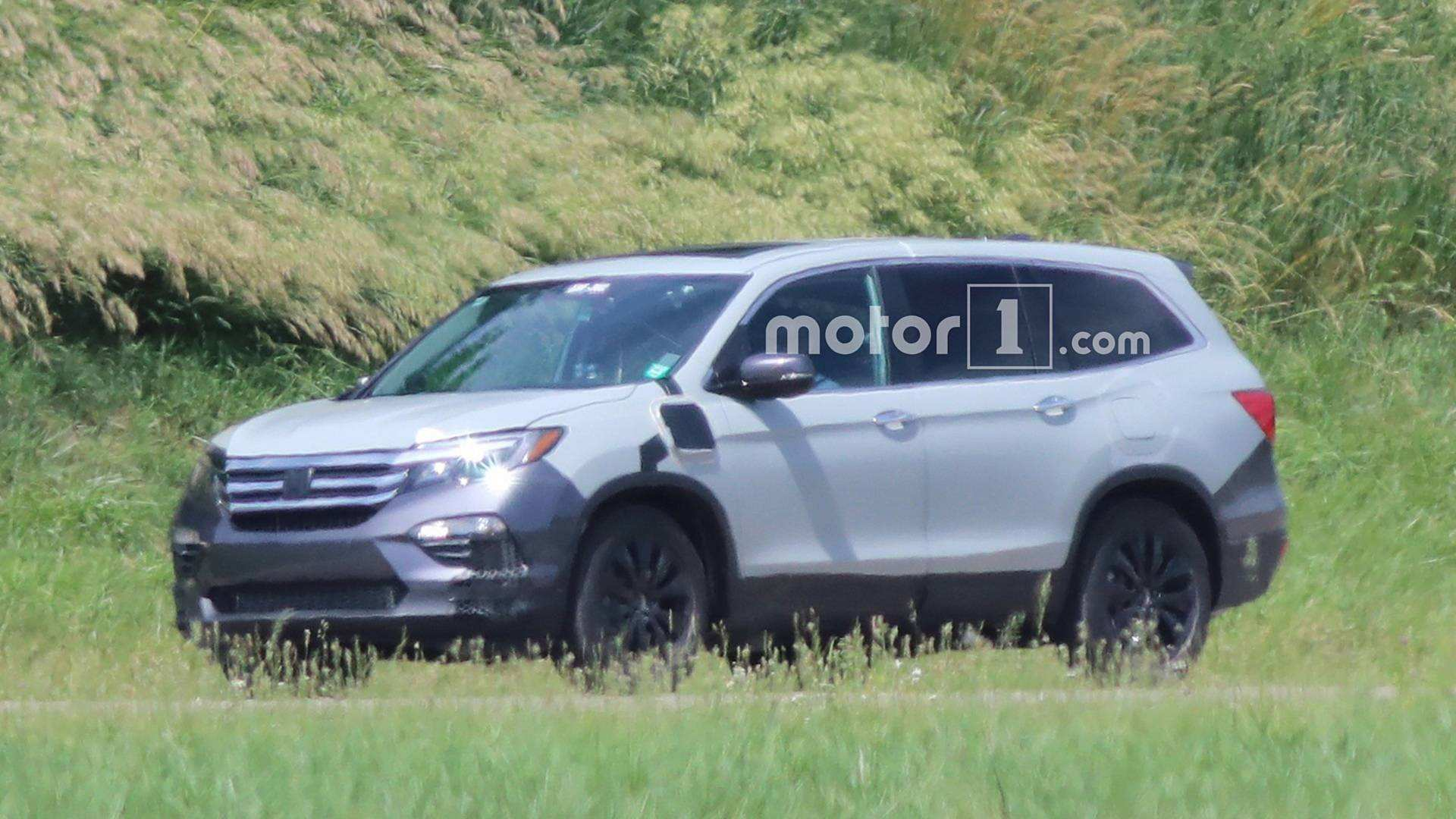 73 Best 2019 Honda Pilot Spy Photos Performance And New Engine