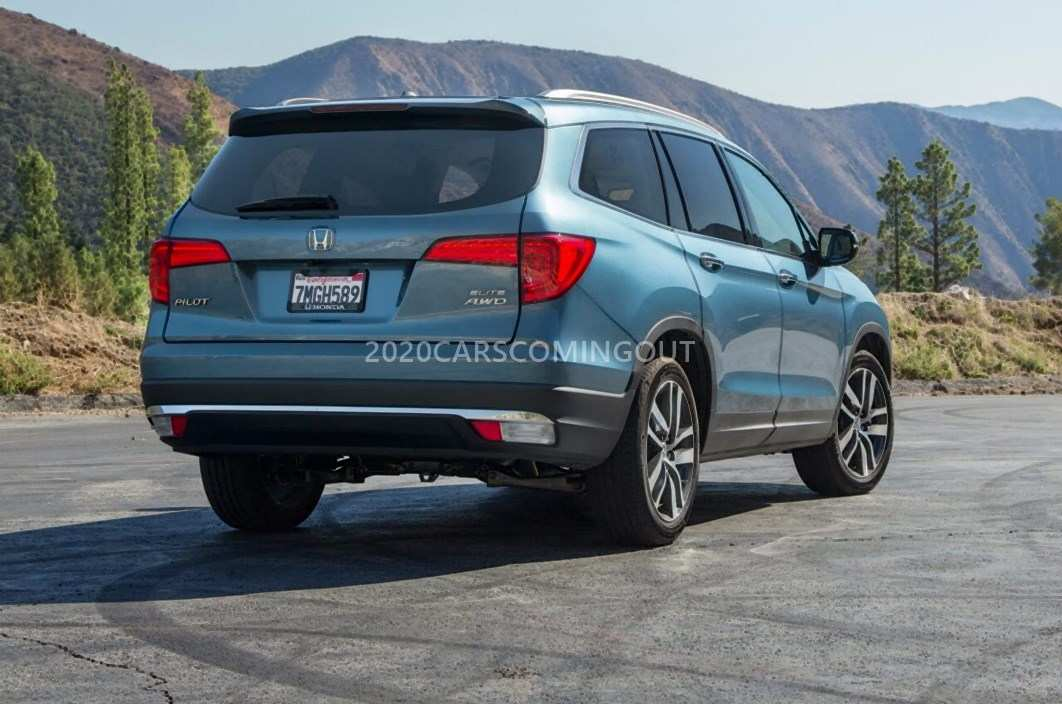 73 New 2020 Honda Pilot Spy Photos Price