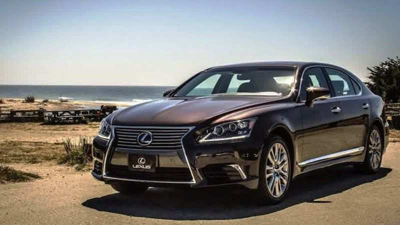 73 The 2019 Lexus Ls 460 Concept