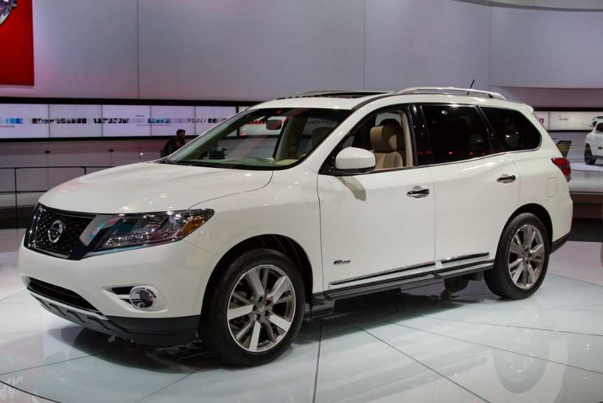 73 The 2019 Nissan Pathfinder Hybrid Release