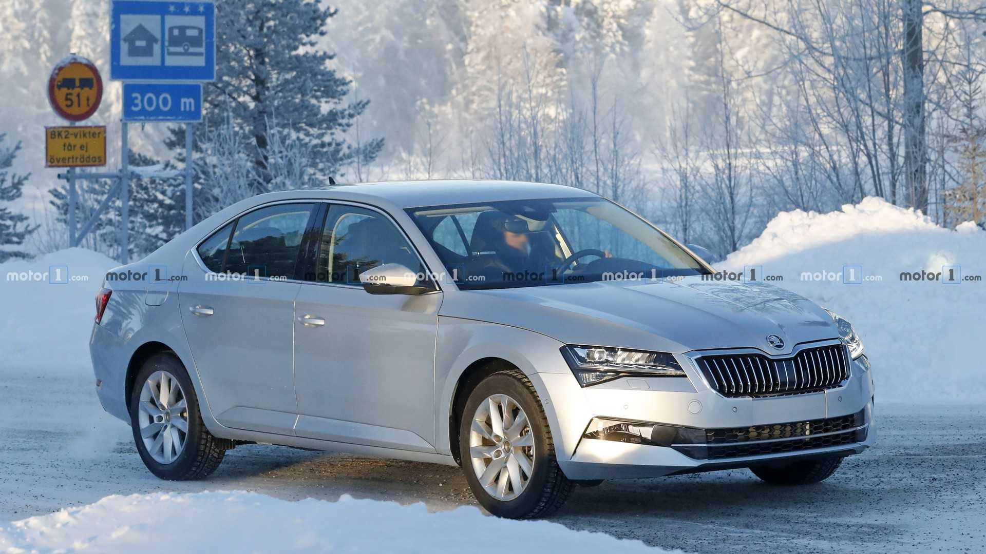 73 The 2019 The Spy Shots Skoda Superb Specs And Review