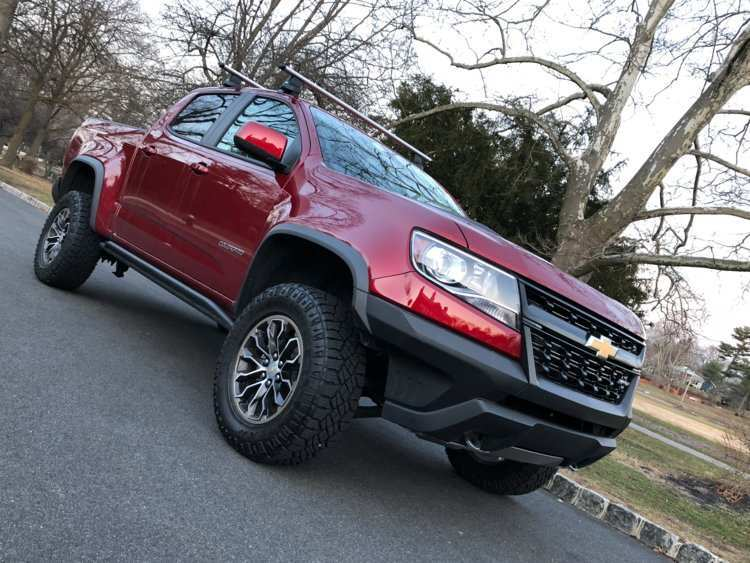 73 The 2020 Chevrolet Colorado Z72 Performance