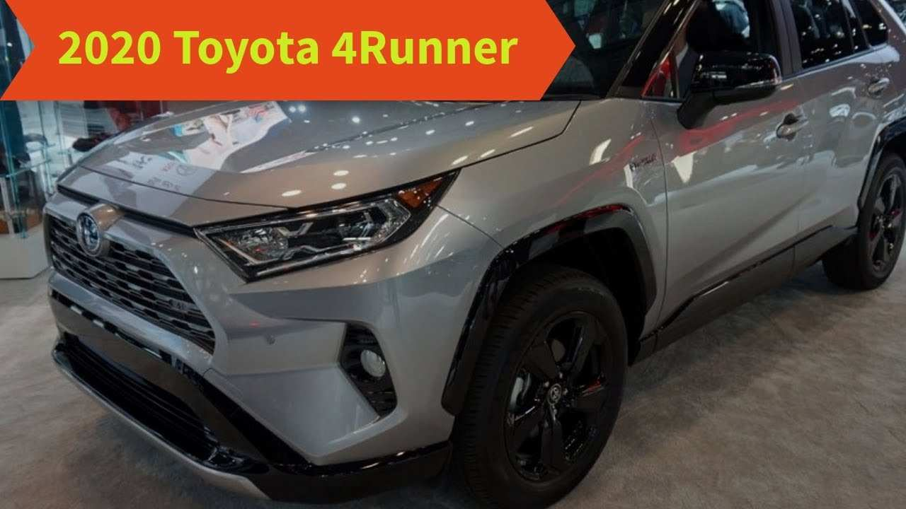 73 The Best 2020 Toyota 4Runner Photos