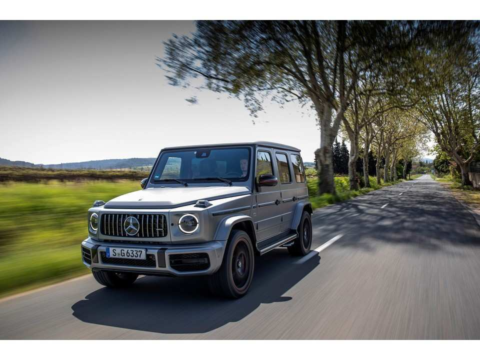 73 The Best Mercedes G 2019 New Concept