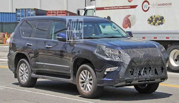 73 The When Will The 2020 Lexus Gx Come Out Spy Shoot