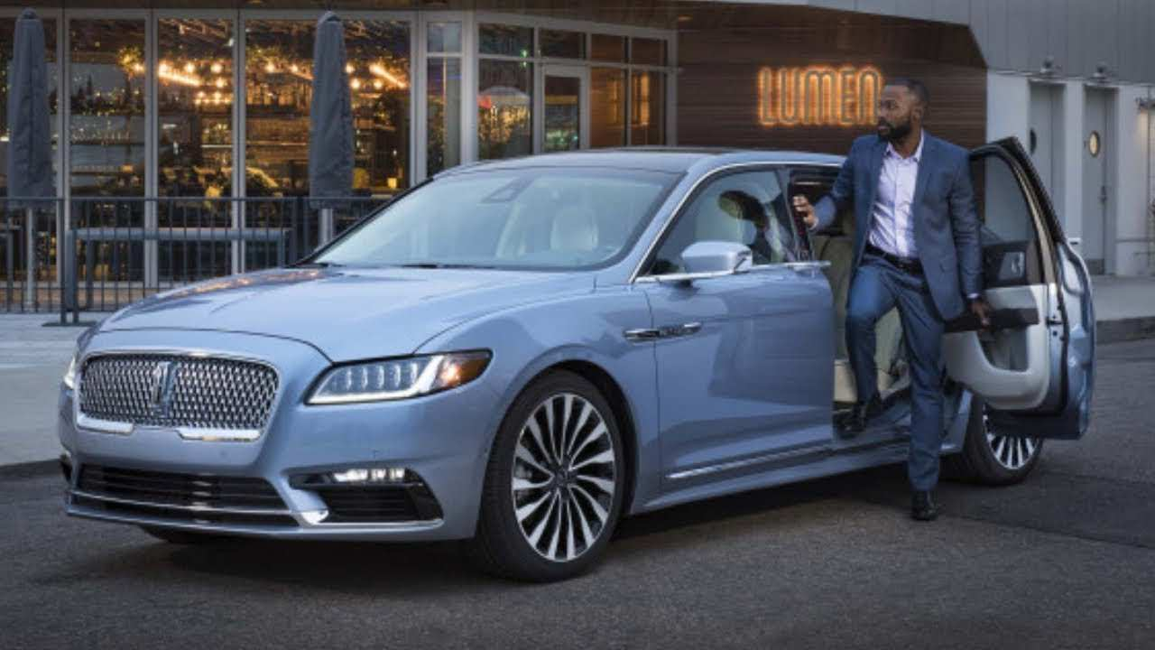74 A 2019 Lincoln Continental Engine