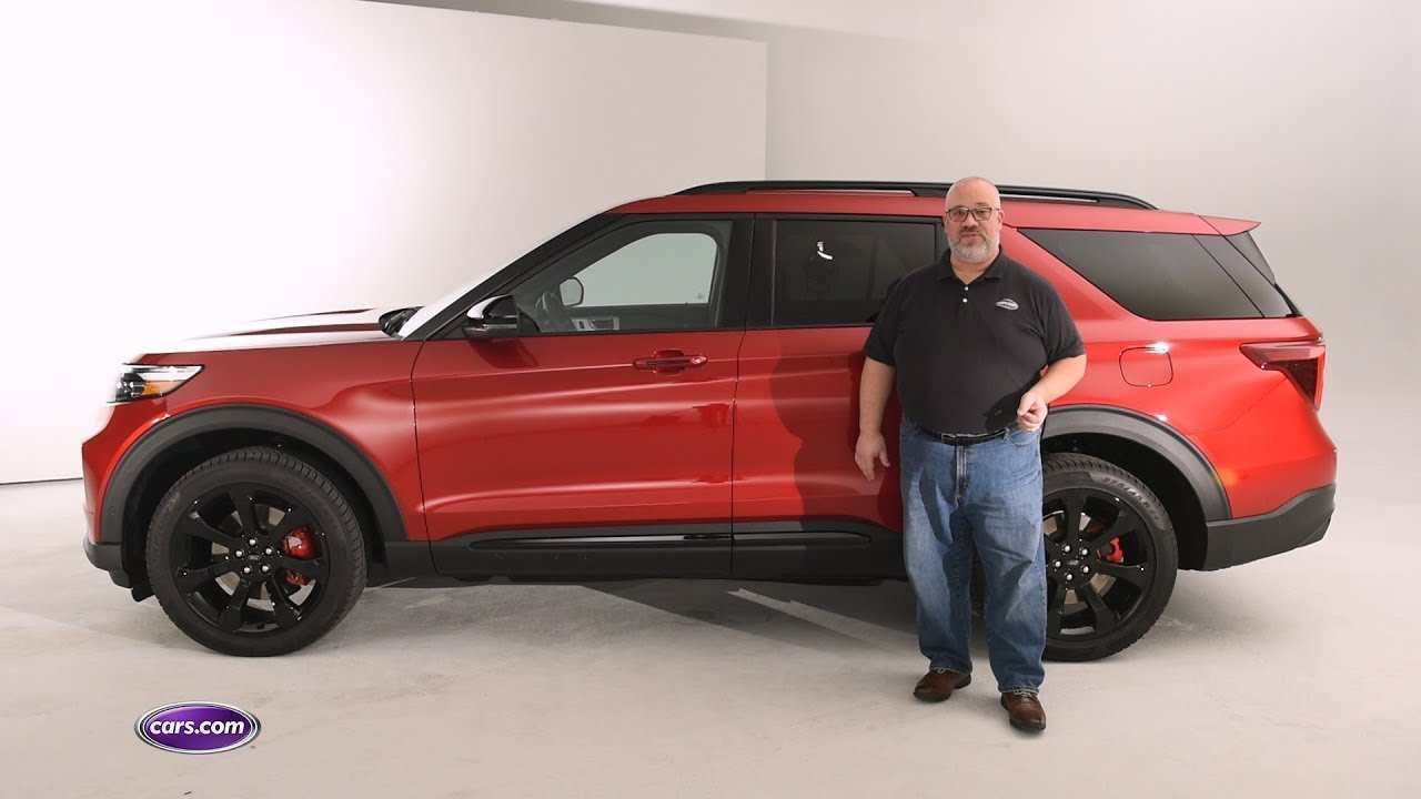 74 A 2020 Ford Explorer Sports First Drive