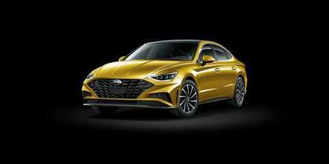 74 A 2020 Hyundai Sonata Yellow Review