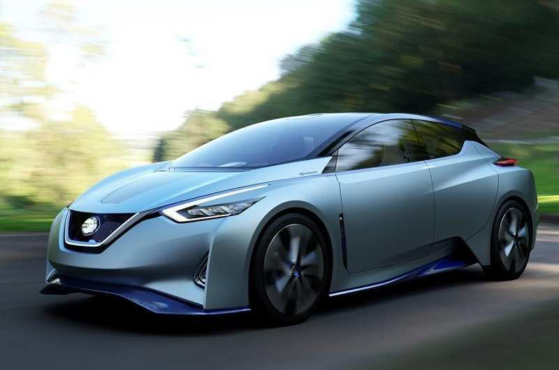 74 A 2020 Nissan Leaf Range Wallpaper