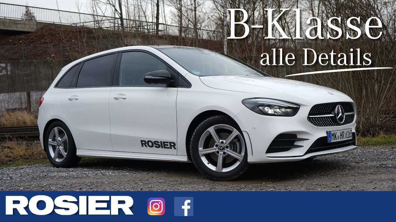 74 A Mercedes B Klasse 2019 Price And Release Date