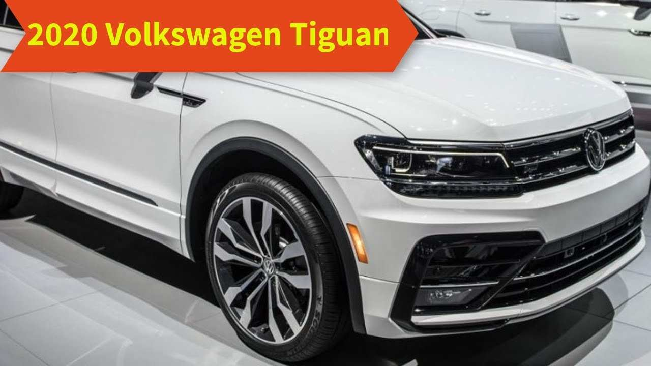74 All New 2020 VW Tiguan First Drive