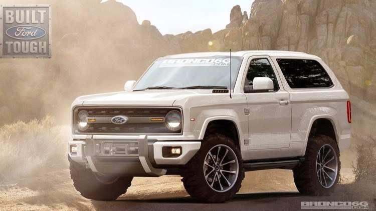 74 All New Ford S New Bronco 2020 Review And Release Date